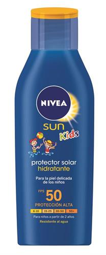 Foto PROTECTOR SOLAR HIDRATANTE 200ML FPS 50 NIVEA SUN KIDS FCO de