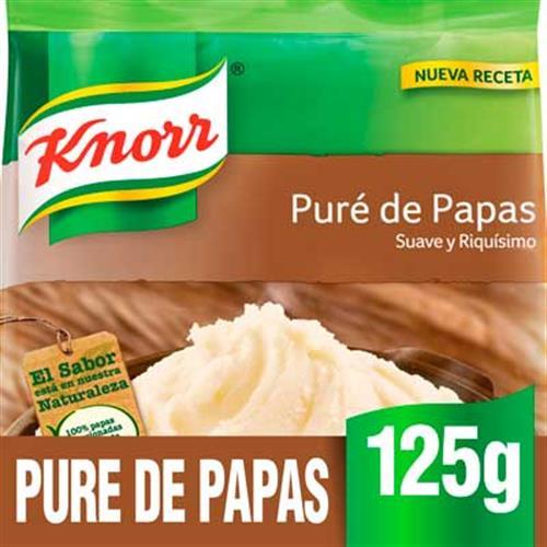 Foto PURE D/PAPAS INST 12X125GR KNORR BSA de