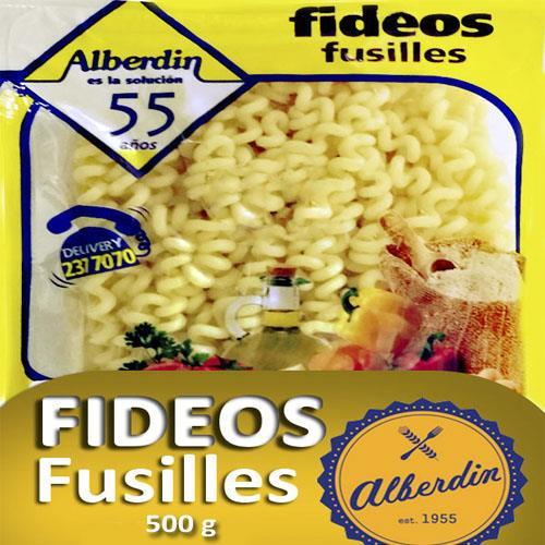 Foto FIDEOS FRESCOS FUSILLES 500GR ALBERDIN PAQ de