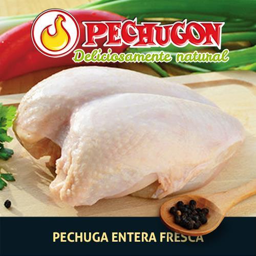 Foto PECHUGA FRESCA CON HUESO PECHUGON KILO de