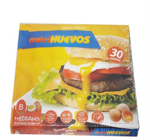 Foto HUEVO 30 UN NUTRIHUEVOS TIPO B de