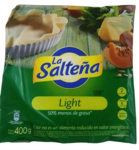 Foto TAPA P/PASCUALINA LIGHT 400GR LA SALTEÑA PAQ de