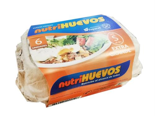 Foto HUEVOS TIPO S POR 6 UN NUTRIHUEVOS CJA de
