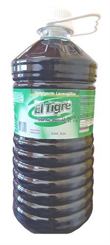 Foto DETERGENTE 3LTS EL TIGRE BIDON de