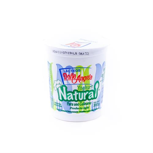 Foto YOGURT DOÑA ANGELA NATURAL POTE 350GR de