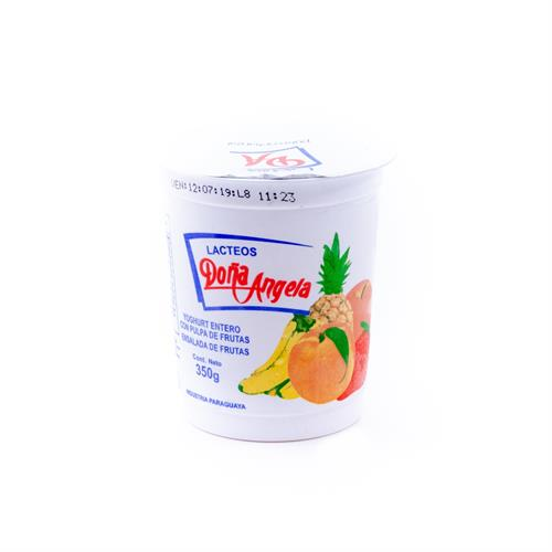 Foto YOGURT ENTERO TUTI FRUTI 350GR DOÑA ANGELA POT de
