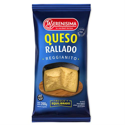 Foto QUESO RALLADO LA SERENISIMA 200GR BOLSA de