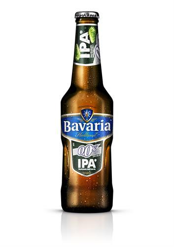 Foto BAVARIA CERVEZA IPA 0.0 % DE ALCOHOL 330 ML de