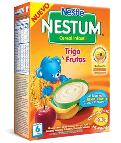 Foto CEREAL NESTUM TRIGO C/FRUTAS 12X200GR NESTLE CJA de