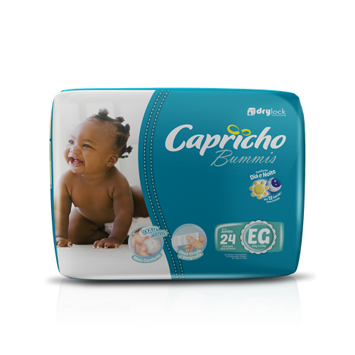 Foto PAÑAL BABY EG 24UN CAPRICHO BUMMIS PAQ  de