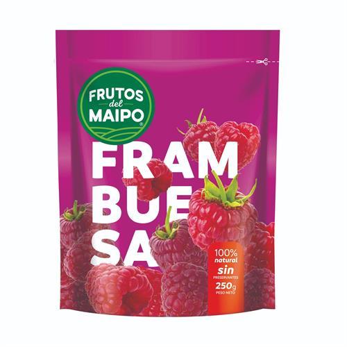 Foto FRAMBUESAS 250GR FRUTOS DEL MAIPO PAQ de