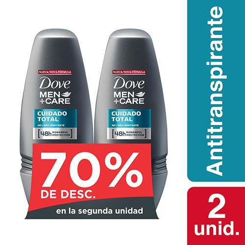 Foto DESODORANTE CLEAN COMFORT ROLLON 50ML 2UN DOVE EL 2DO 50PORC.DESC de