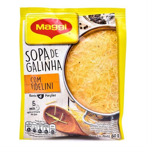 Foto SOPA D/GALLINA C/FIDEO DESHIDRATADA 60GR MAGGI de
