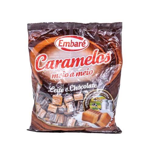 Foto CARAMELO LECHE CHOCOLATE 660GR EMBARE BSA de