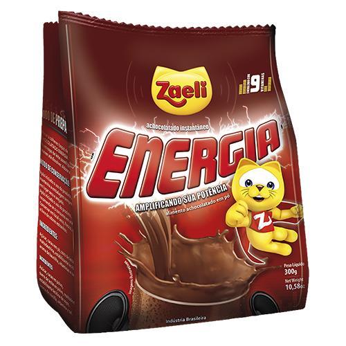 Foto CHOCOLATADA ENERGIA 300GR ZAELI PLA de