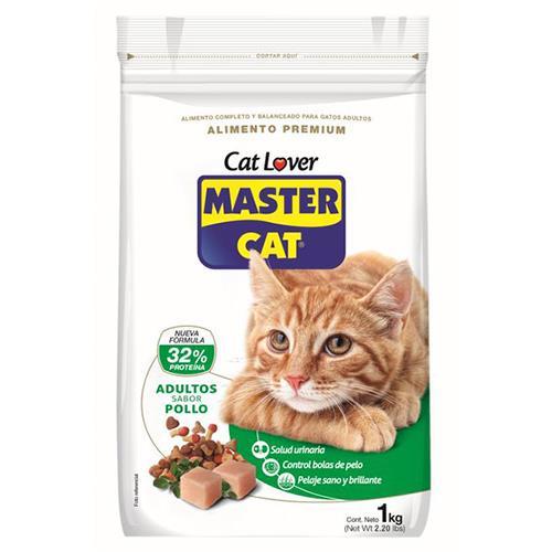 Foto ALIMENTO PARA GATO MASTER CAT POLLO 1KG de