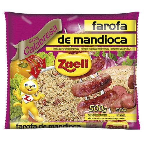 Foto ARINA DE MANDIOCA ZAELI CALABRESA PAQUETE 500GR de