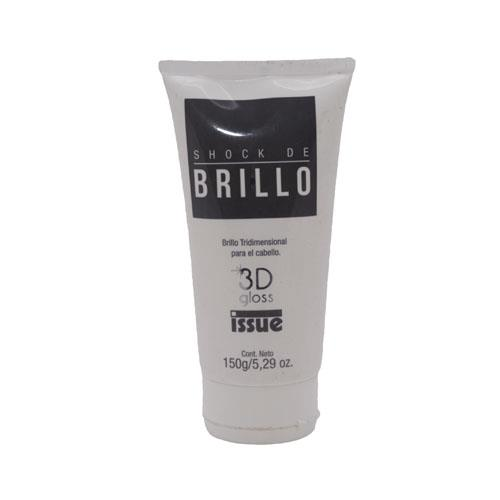 Foto TRATAMIENTO CAPILAR SHOCK DE BRILLO 3D GLOSS 150ML ISSUE FCO de