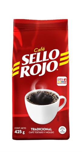 Foto CAFÉ TRADICIONAL SELLO ROJO 425GR de