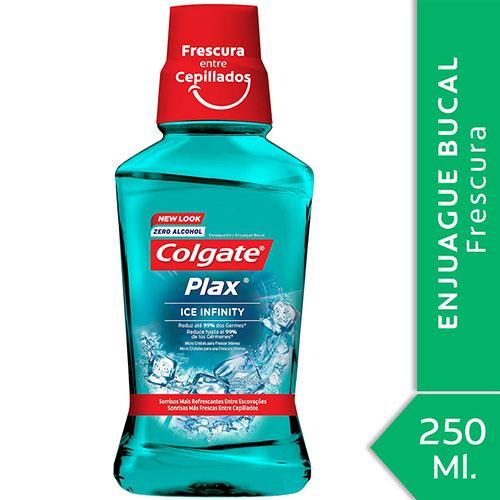 Foto ENJUAGUE BUCAL PLAX ICE INFINITY COLGATE 250ml de