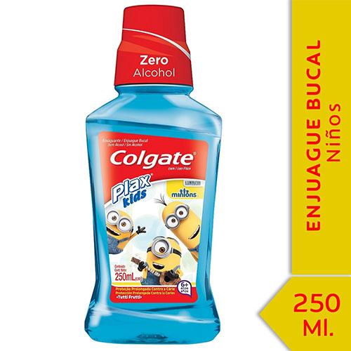 ENJUAGUE BUCAL PLAX KIDS COLGATE 250ml