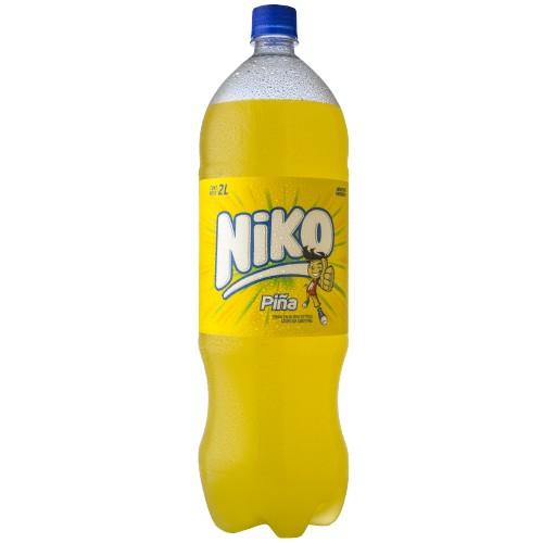 GASEOSA SABOR PIÑA NIKO 2LT