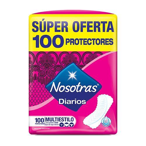 Foto PROTECTOR DIARIO MULTIESTILO NOSOTRAS 100UNID de