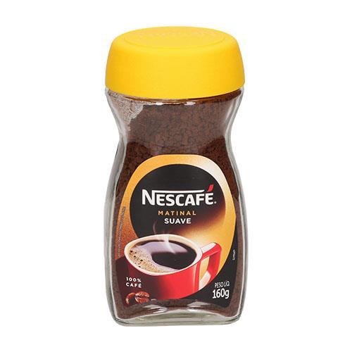 Foto CAFE MATINAL SUAVE NESCAFE 160GR de