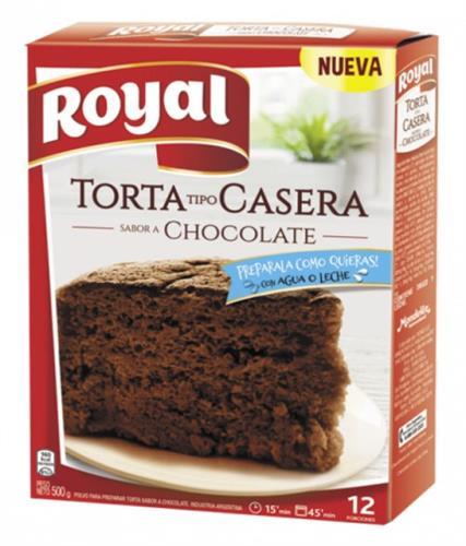 Foto TORTA TIPO CASERA SABOR CHOCOLATE ROYAL 500GR de