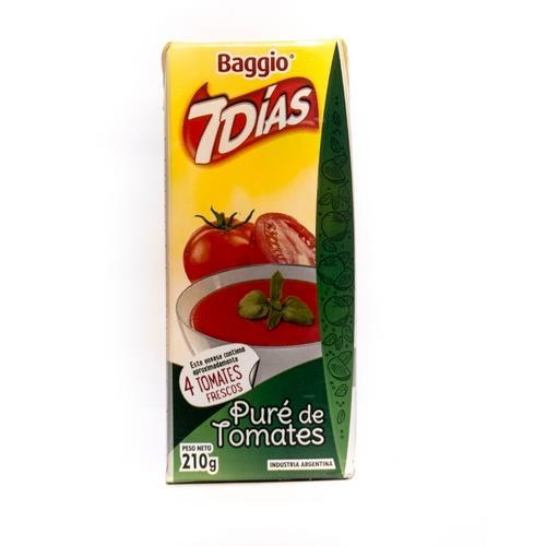 Foto PURE DE TOMATE 7DIAS BAGGIO 210GR de