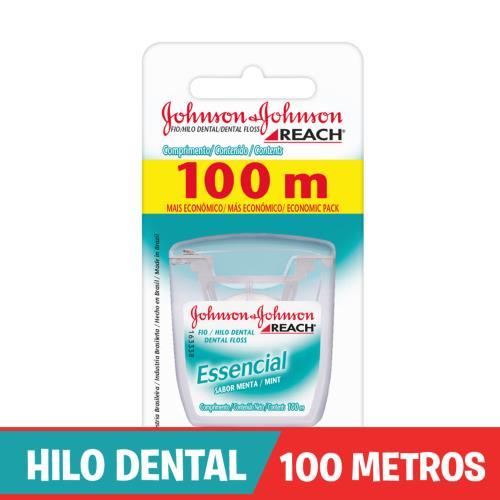 Foto HILO DENTAL ESSENCIAL MENTA JOHNSONS 100M de