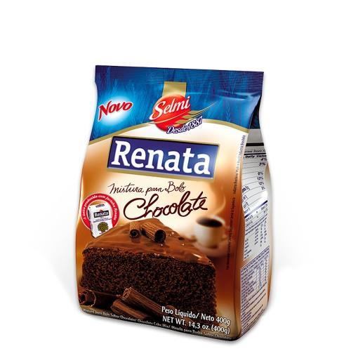 Foto MEZCLA PARA TORTA SABOR CHOCOLATE RENATA 400GR de