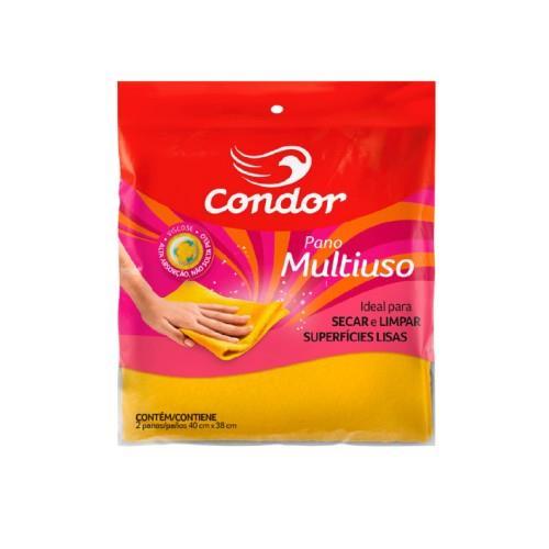 Foto PAÑO MULTIUSO 40X38CM CONDOR 2UNID de